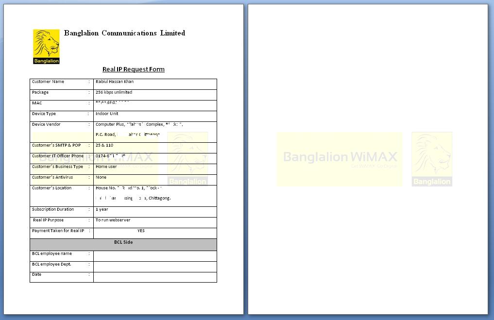 banglalion wimax customer care center dhaka bangladesh