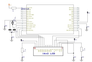 LCD-16x2-Character-MCU-Interface